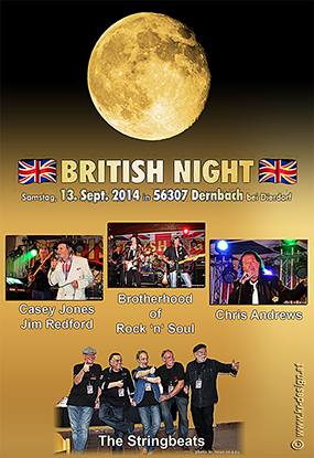 British Night 2014